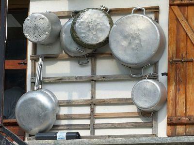 Ollas y sartenes de aluminio