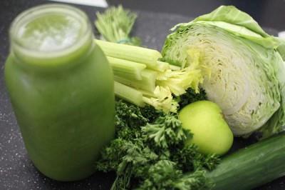 Recetas batidos verdes saludables