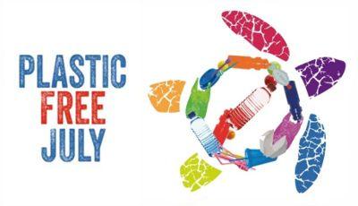 Julio sin plástico. Plastic free july