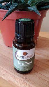 Desodorante natural - aceite esencial del árbol del té