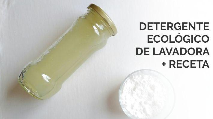 Detergente ecológico para la ropa